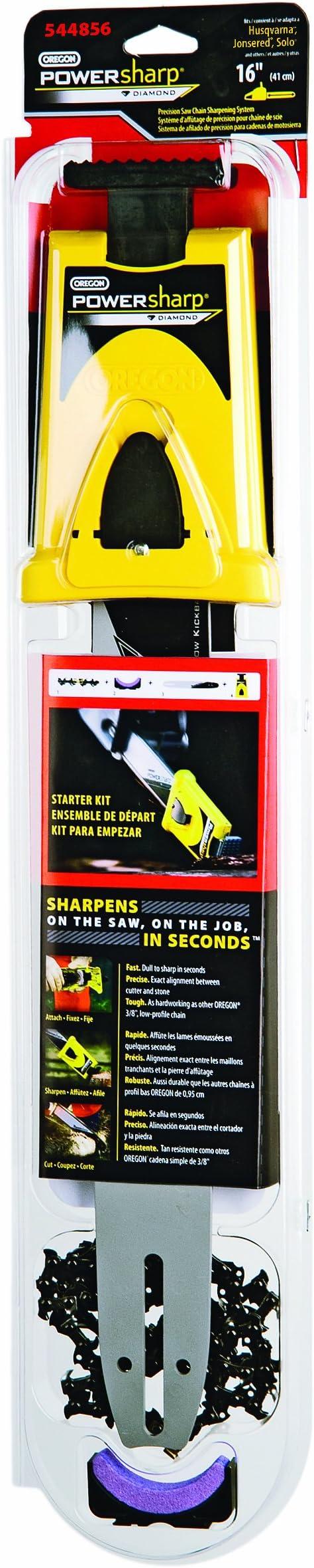 Amazon Com Oregon 544856 16 Inch Powersharp Starter Kit For Husqvarna Garden Outdoor