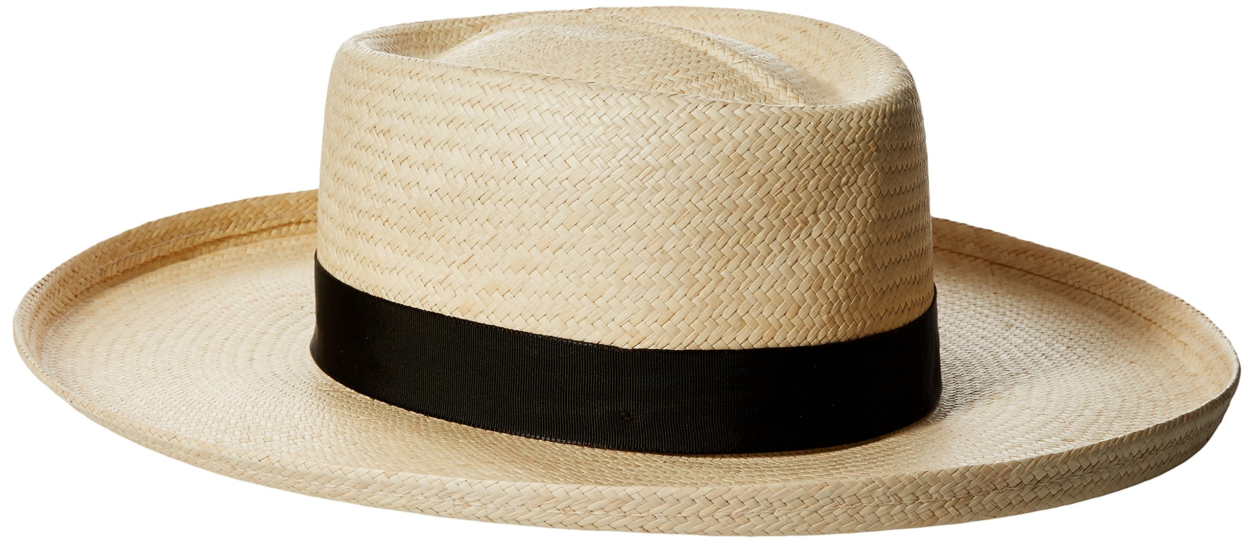 Scala Men's Grade 3 Big Brim Panama, Natural, Medium by Scala