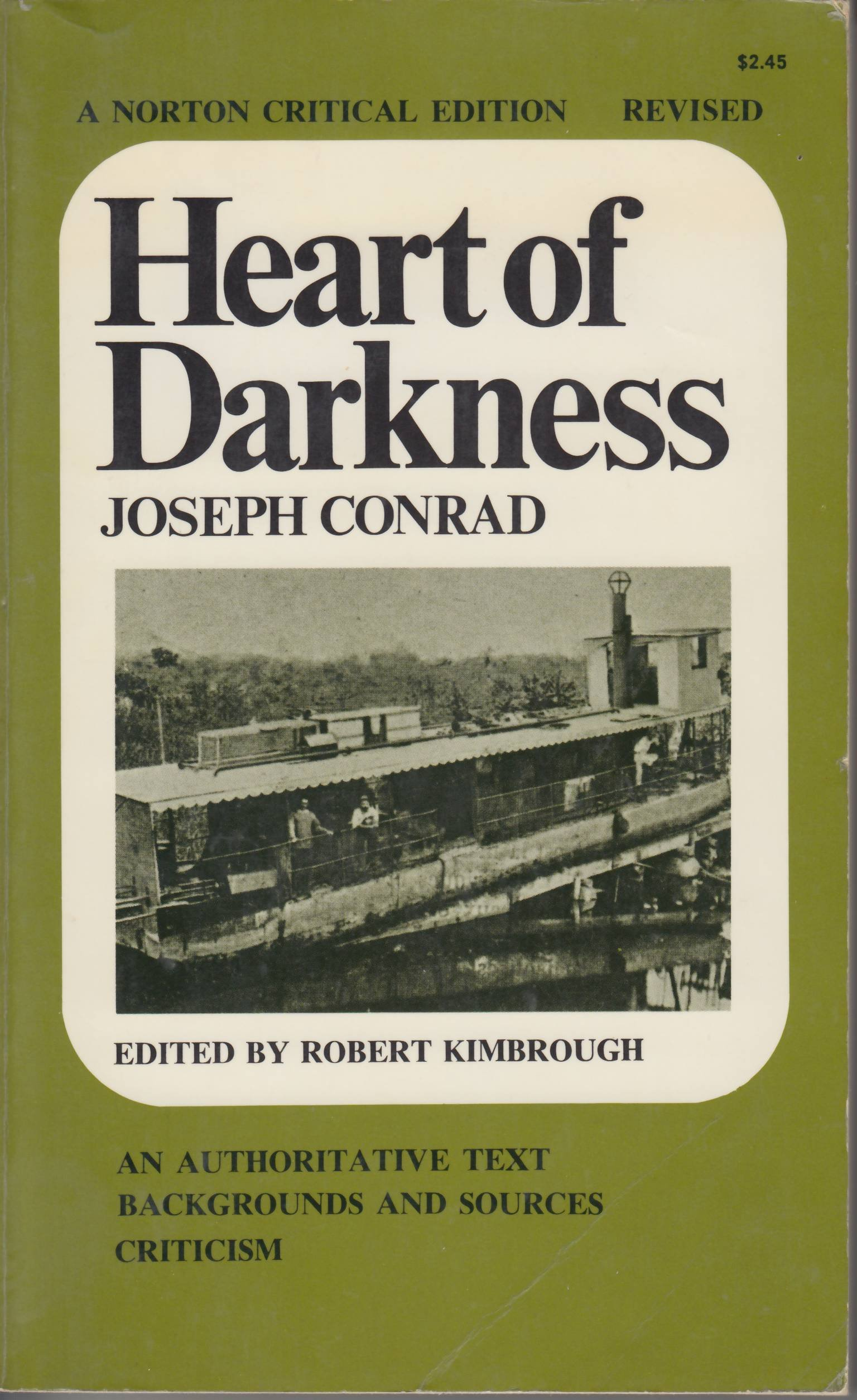 College Vs High School Essay Heart Of Darkness An Authoritative Text Backgrounds And Sources Essays  In Criticism Norton Critical Editions Joseph Conrad   Sample Proposal Essay also Environmental Science Essays Heart Of Darkness An Authoritative Text Backgrounds And Sources  Essays On Science