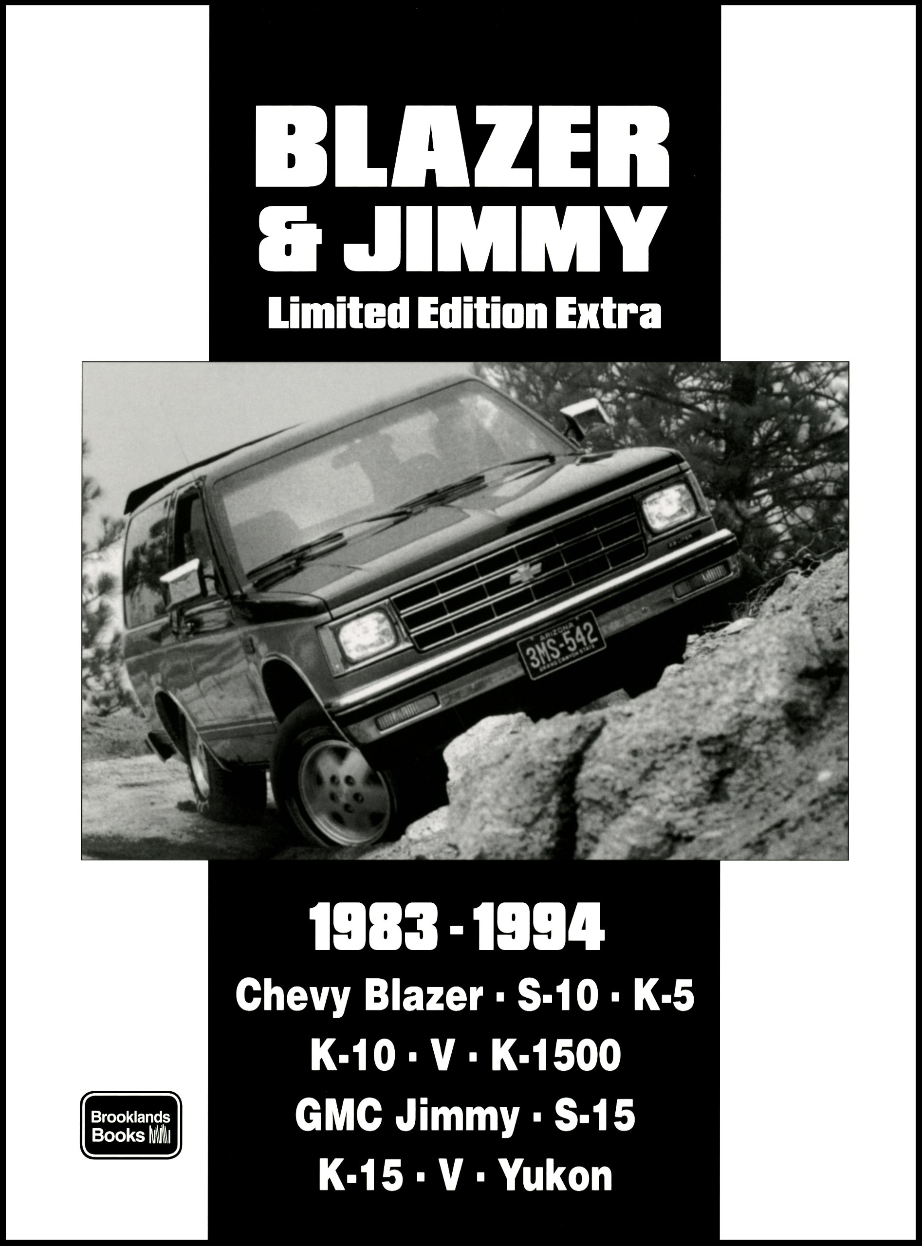 Read Online Chevy Blazer & Jimmy Limited Edition Extra 1983-1994 ebook