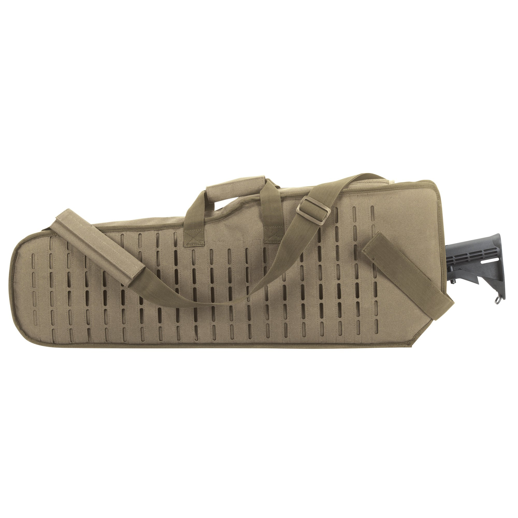 VooDoo Tactical Scope Rifle Scabbard, Coyote