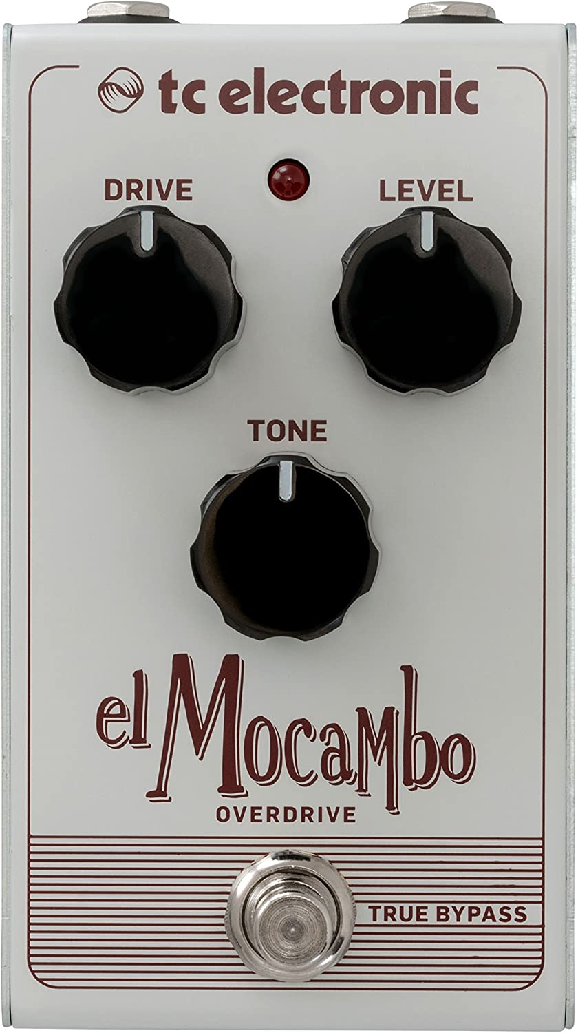 TC Electronic Electric Guitar Single Effect (EL MOCAMBO OVERDRIVE)