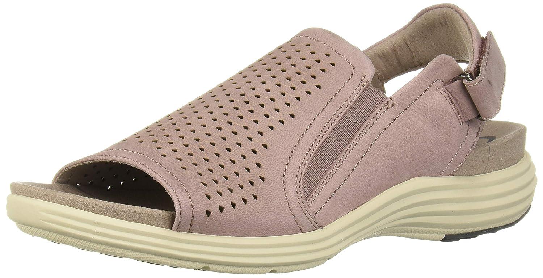 pink Aravon Women's Beaumont Peep Sling Sandal