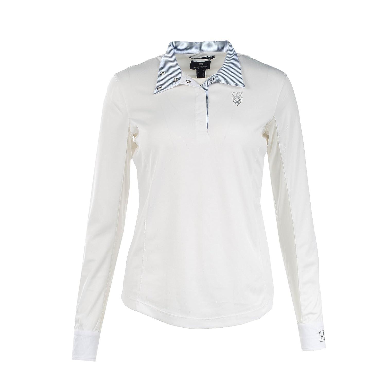 【高い素材】 Horze Blaireホワイトレディース長袖Functional ) 38 Showシャツ( EU US 8/ EU 38 ) B077MT7FNG, こたつ専門店 カグ楽:3daf8860 --- svecha37.ru