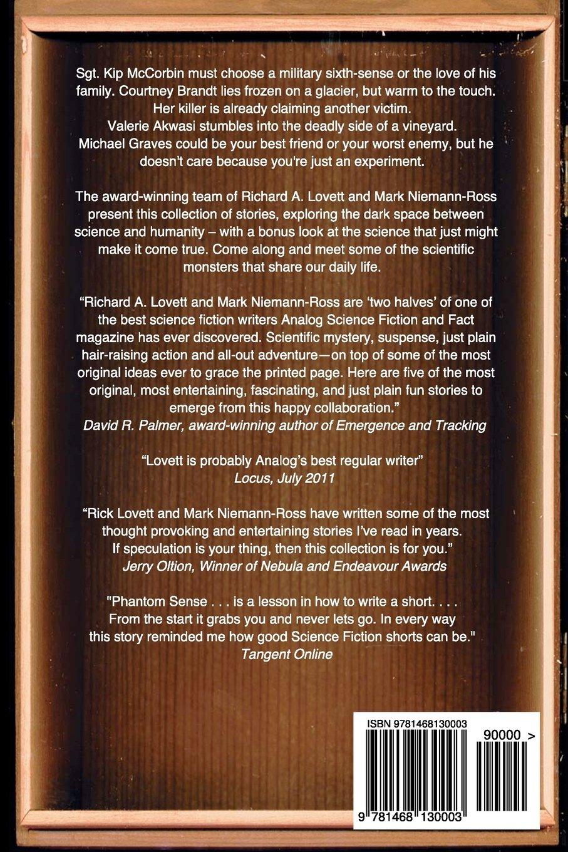 Science Fiction Side Of Everyday Life >> Phantom Sense Other Stories Richard A Lovett Mark Niemann Ross