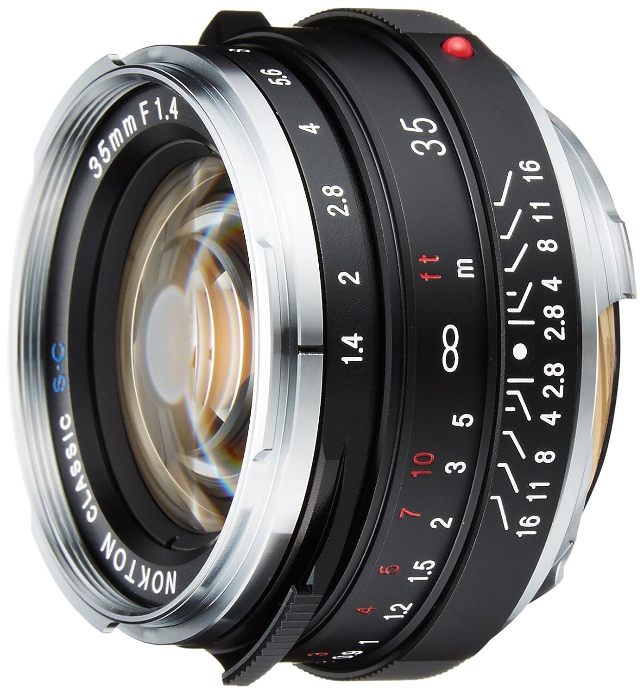 Voigtlander 単焦点広角レンズ NOKTON classic 35mm F1.4 SC シングルコーティング レンズのみ  B0036WSJDY