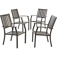 4-Set Better Homes & Gardens Camrose Farmhouse Stacking Dining Chair