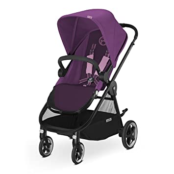 CYBEX Iris M-Air Baby Stroller, Grape Juice by Cybex: Amazon ...