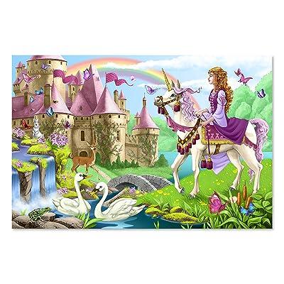 Melissa & Doug 48pc Fairy Tale Castle Floor Puzzle: Melissa & Doug: Toys & Games
