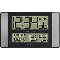La Crosse Technology 513-1417H-AL-INT Atomic Clock with Temperature & Humidity