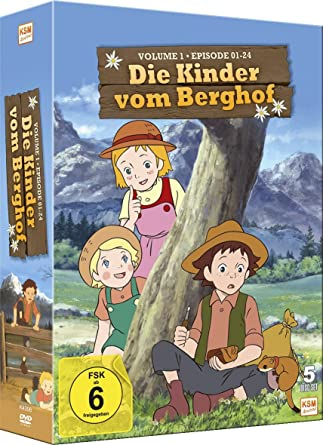Die Kinder Vom Berghof Volume 1 Episode 01 24 Im 5 Disc