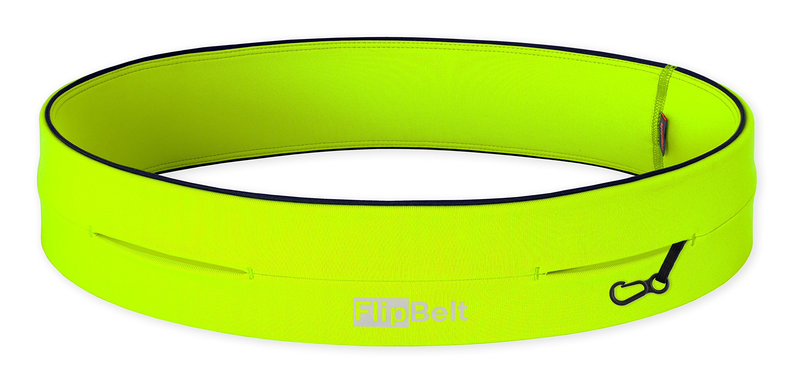 FlipBelt Level Terrain Waist Pouch, Neon Yellow, X-Small/22-25