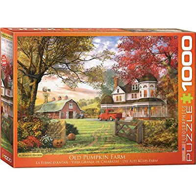 EuroGraphics Old Pumpkin Farm Jigsaw Puzzle (1000-Piece): Toys & Games
