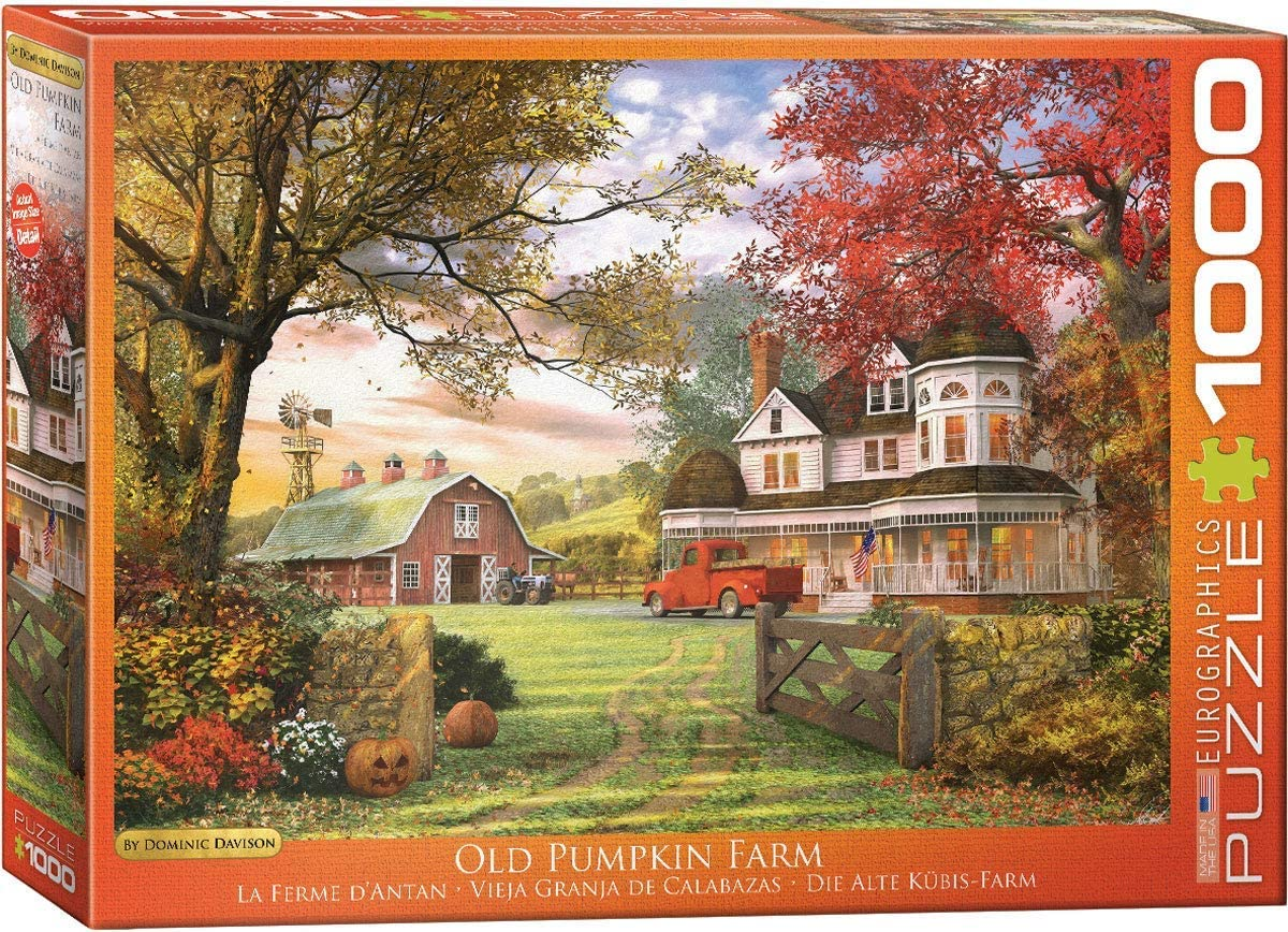 EuroGraphics Old Pumpkin Farm Jigsaw Puzzle (1000-Piece)