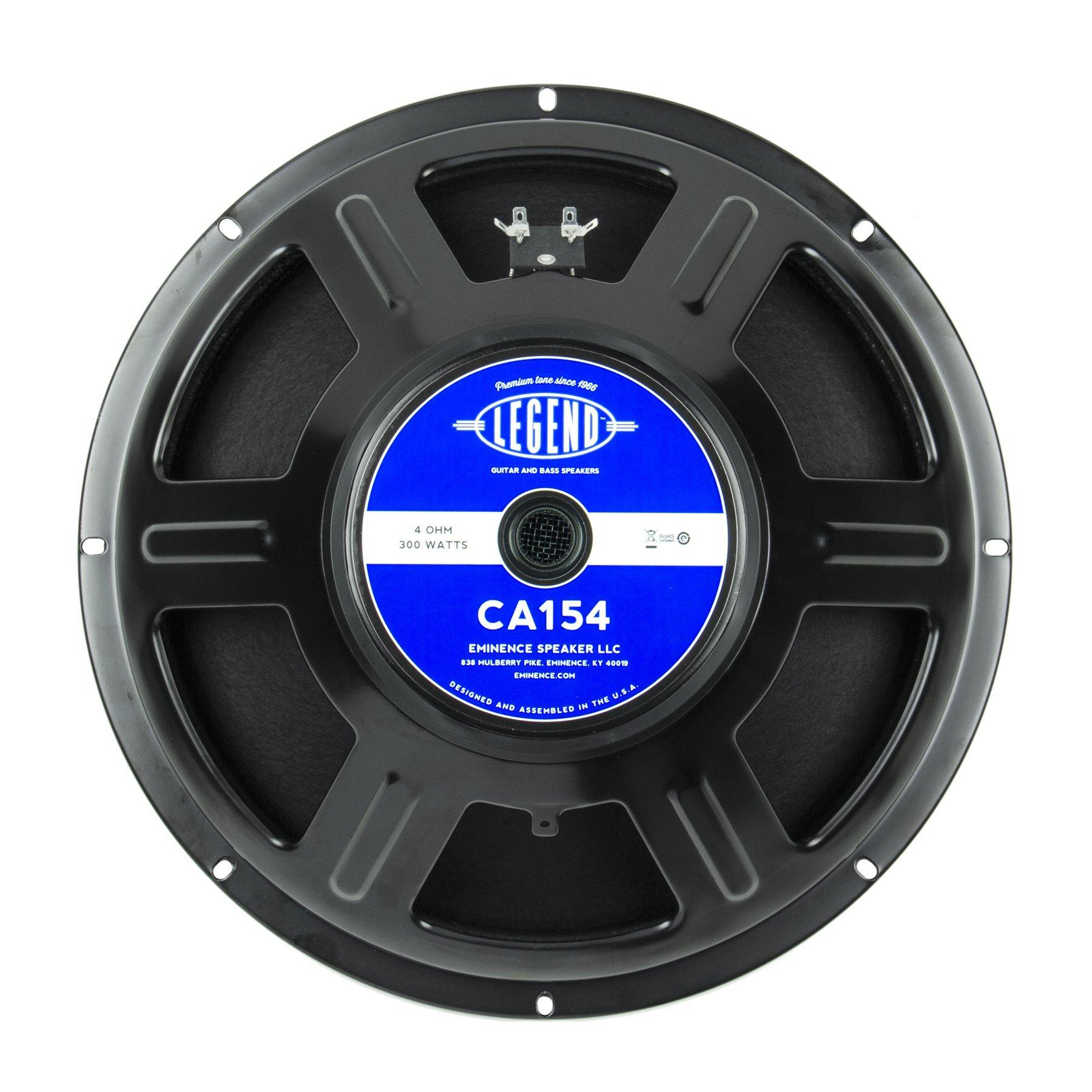Eminence Legend CA154 15'' Bass Guitar Speaker, 300 Watts at 4 Ohms