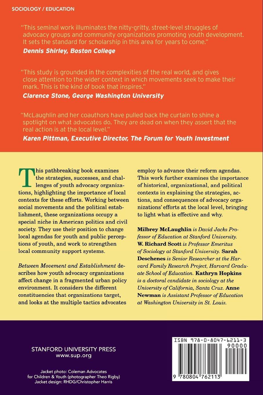 Buy Between Movement and Establishment: Organizations