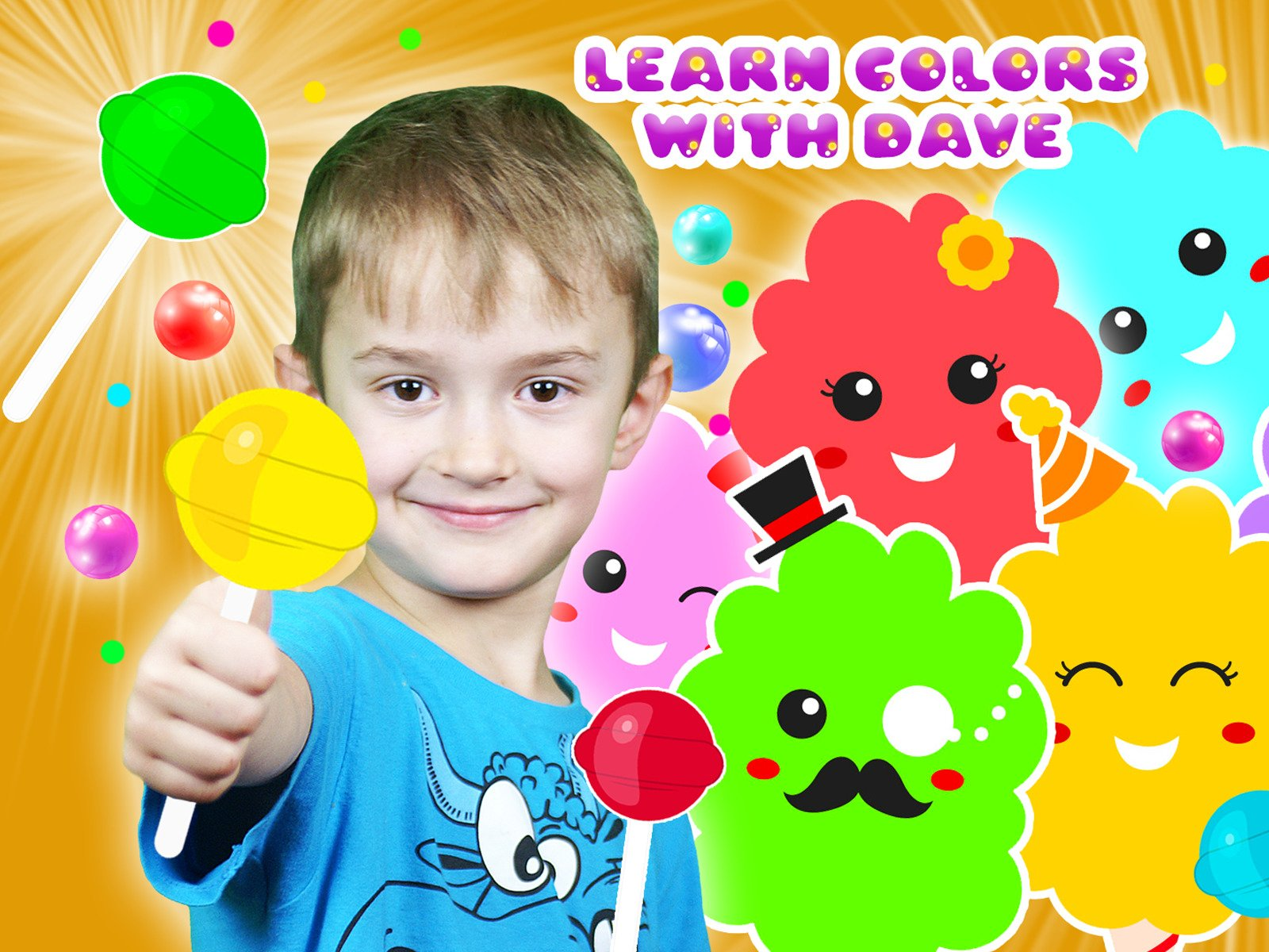 Learn Colors with Dave on Amazon Prime Video UK