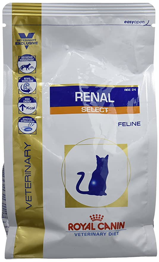 ROYAL CANIN Veterinary Diet Cat Renal Select Comida para gato: Amazon.es: Productos para mascotas