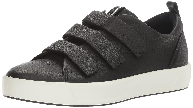 ECCO Women's Soft 8 Strap Fashion Sneaker B01I6GQJ5O 40 EU/9-9.5 M US|Black