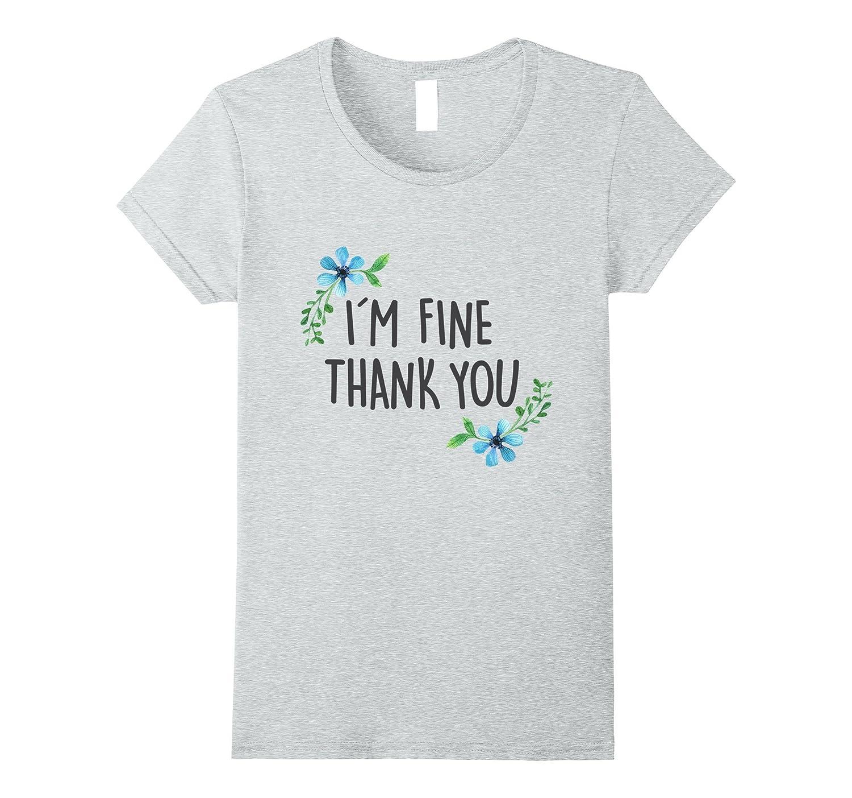 Womens Feeling Fine Tshirt Heather-Awarplus