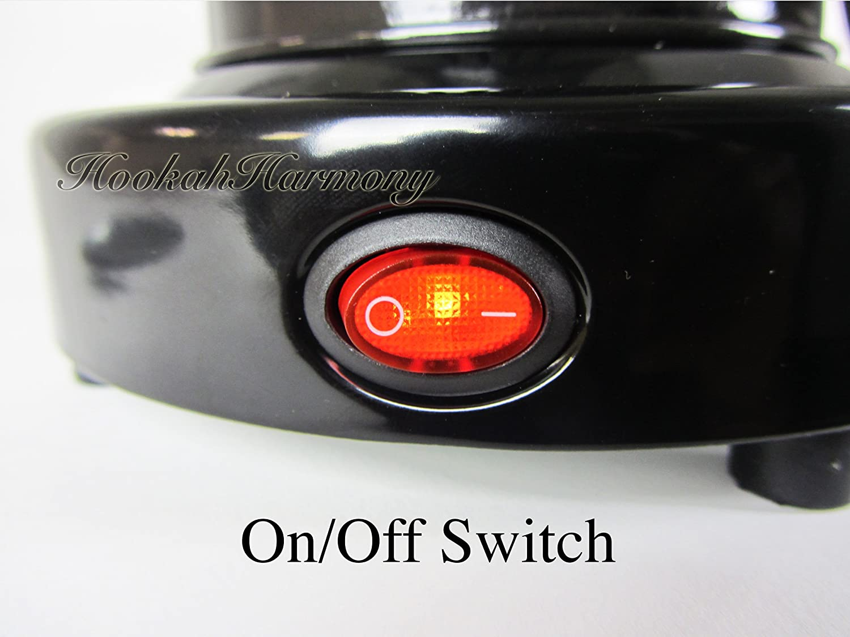 Amazon.com: Deluxe Coco quemador Pipa de carbón eléctrico ...