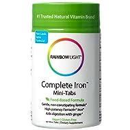 Rainbow Light - Complete Iron Mini-Tabs, 60 Count, Vegan, Energy