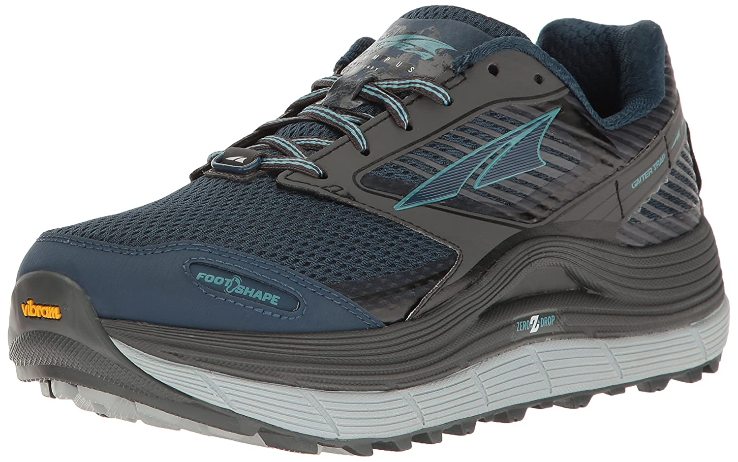 Altra Women's Olympus 2.5 Trail Running Shoe B01N7KOTX1 10 B(M) US|Gray/Blue