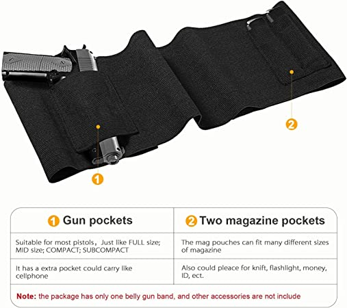 Aoile Outdoor Travel Multifunctional Key Buckle Strap Bag Waist Belt Accessory Black