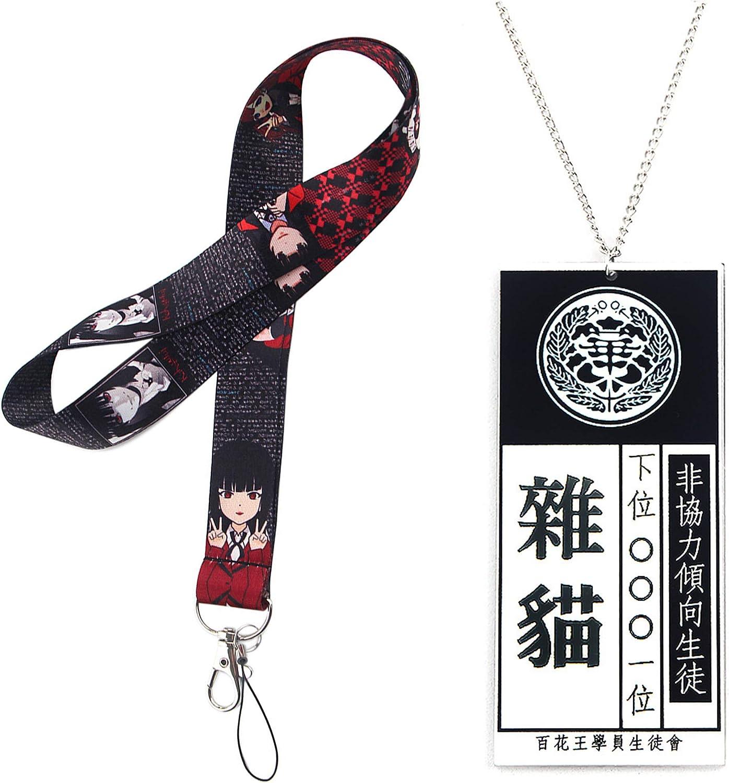 Including 100 Kakegurui Stickers Best Anime Gift for Fans Kakegurui Gift Set