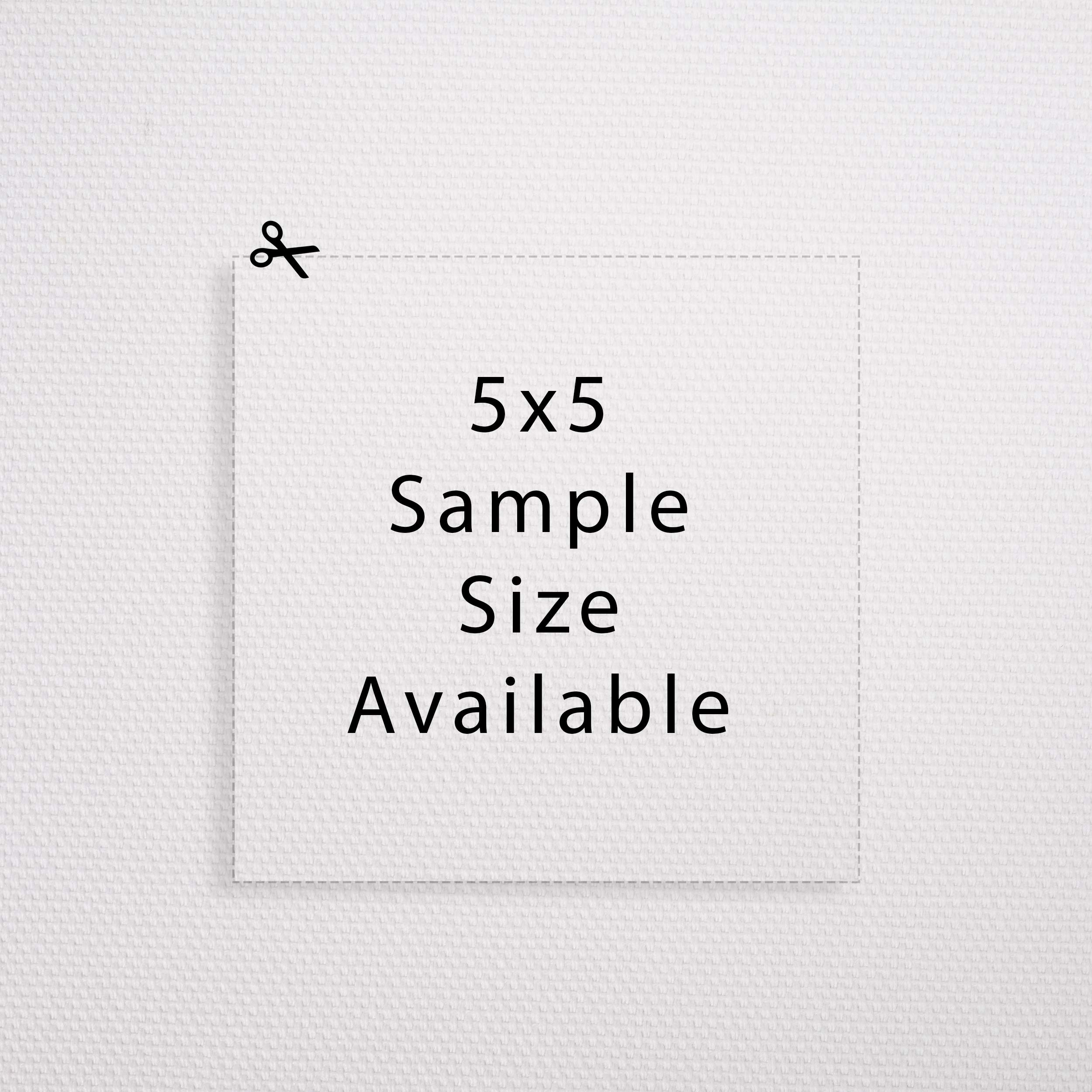 Professional Matte Canvas Roll for Large Format Printers (5''x5'' samples)