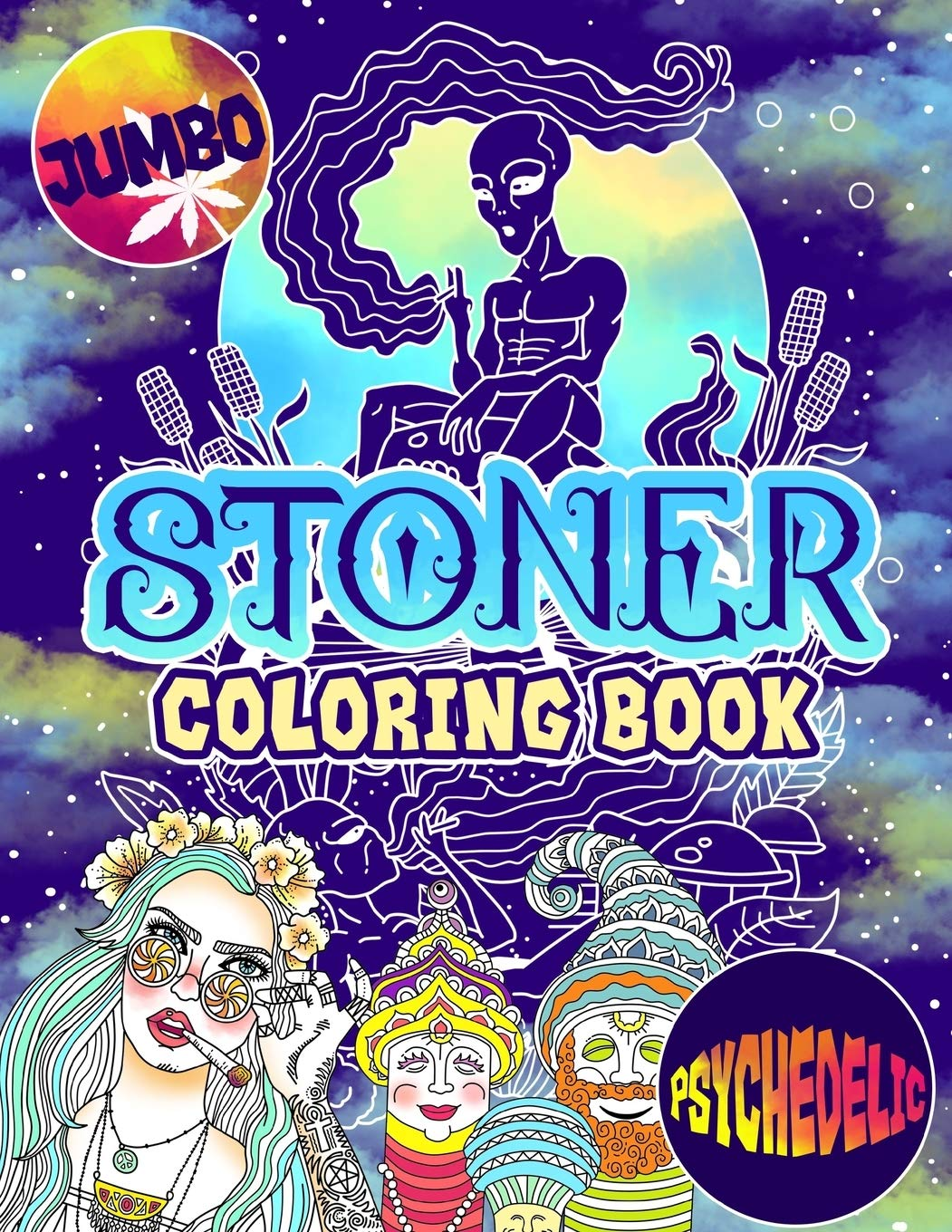 - Amazon.com: Stoner Coloring Book: The Stoner's Psychedelic