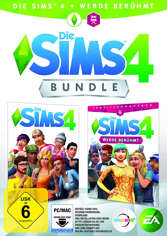 Die Sims 4 - Werde Berühmt Bundle (Code in der Box) - PC ...