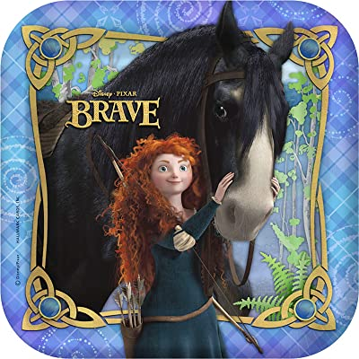 Brave Small Paper Plates (8ct): Toys & Games