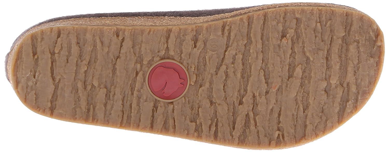 Haflinger Women's Paisley Clog B00UPKZCEO 41 M EU / 10 B(M) US|Smokey Brown