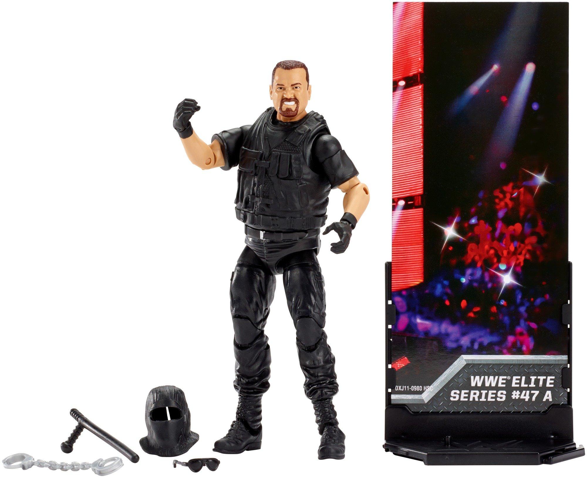 WWE Elite Collection Big Bossman Series 47 A Figure