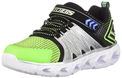 abf62bfb5e8d Skechers Infants  Hypno-Flash 2.0 Light Up Sneaker Lime Blk 5 ...