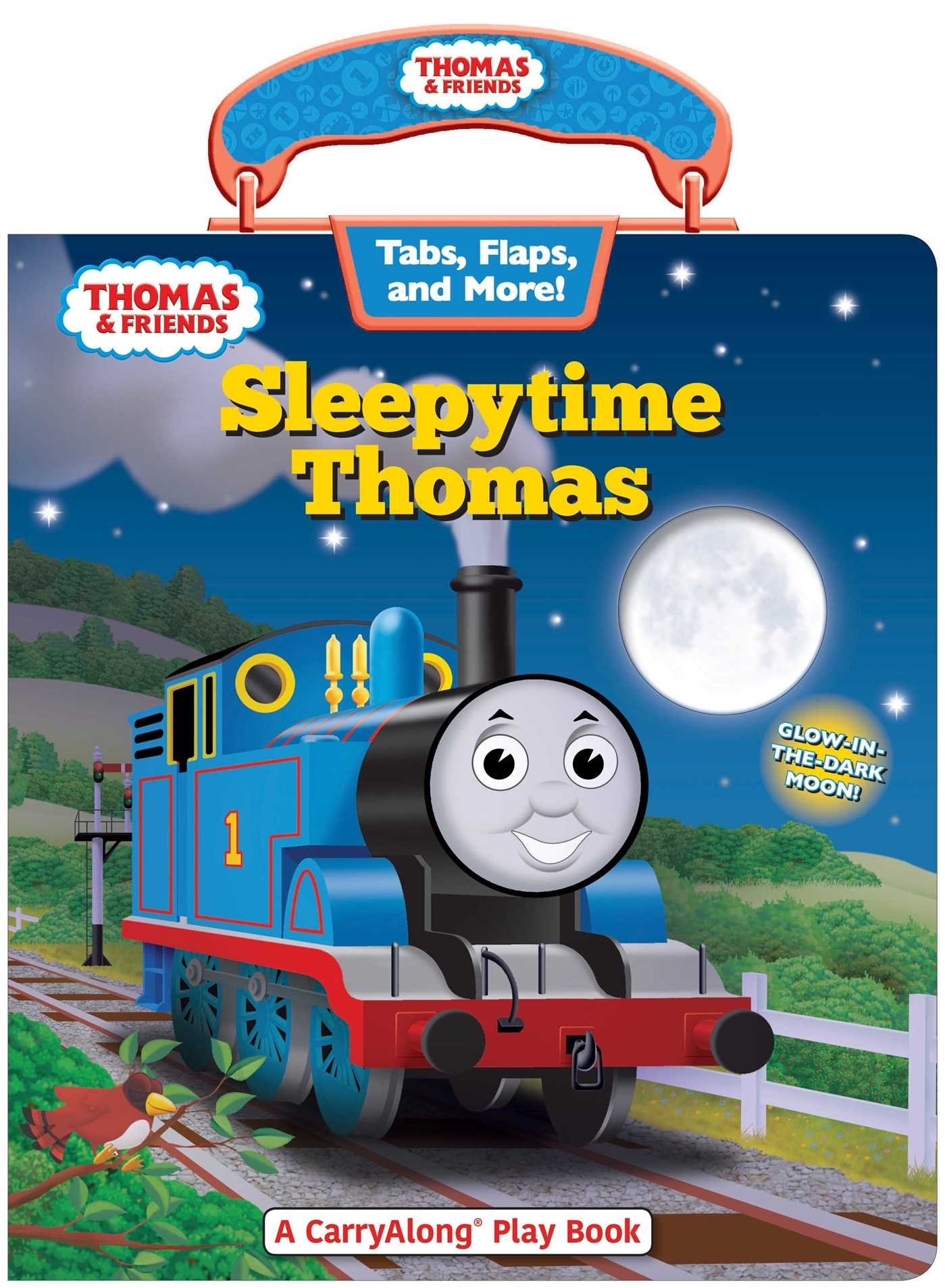 Thomas & Friends: Sleepytime Thomas (Carry Along Play Book)