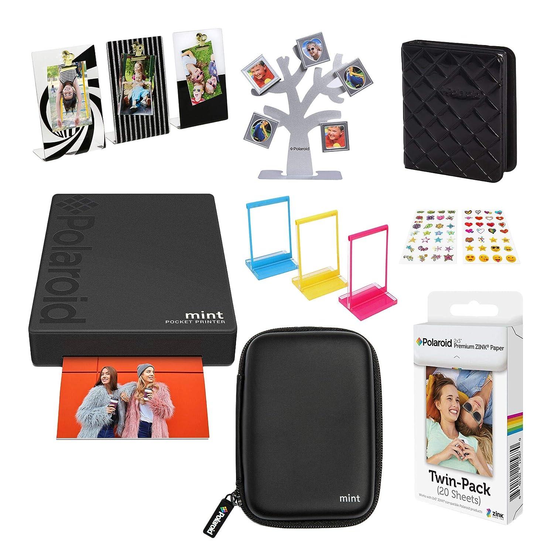 Polaroid Mint Impresora de Bolsillo Inalámbrica (Negro) Kit de ...