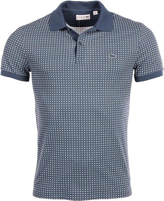 Lacoste - Polo - Camisas De Polo - Manga Corta - para Hombre Azul ...