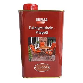 Brema Pflegeöl Für Eukalyptusholz Gartenmöbel Für Innen Und Außen   1 Liter