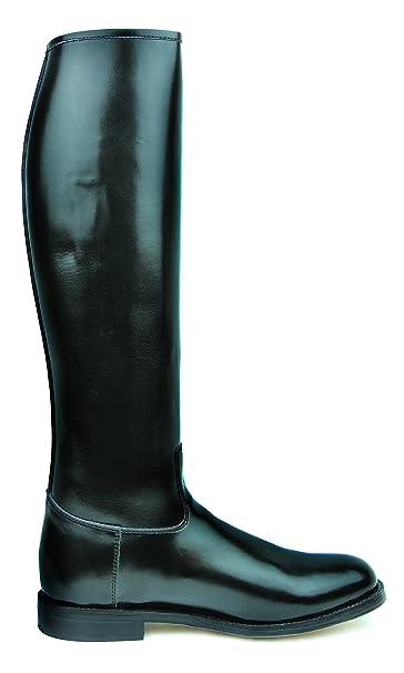 da01b3763ca0 Amazon.com   Hispar Spirit Ladies Women Tall knee high Leather Equestrian  Polo Boots   Sports   Outdoors