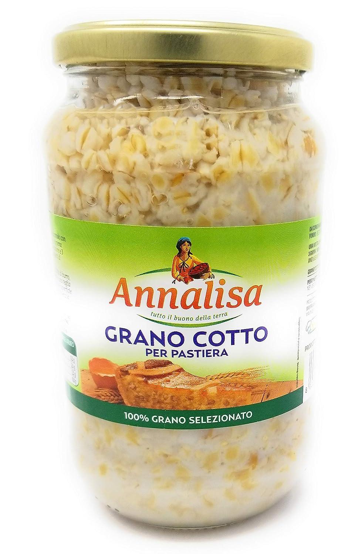 Amazon com : Annalisa Grano Cotto Per Pastiera, Cooked Wheat