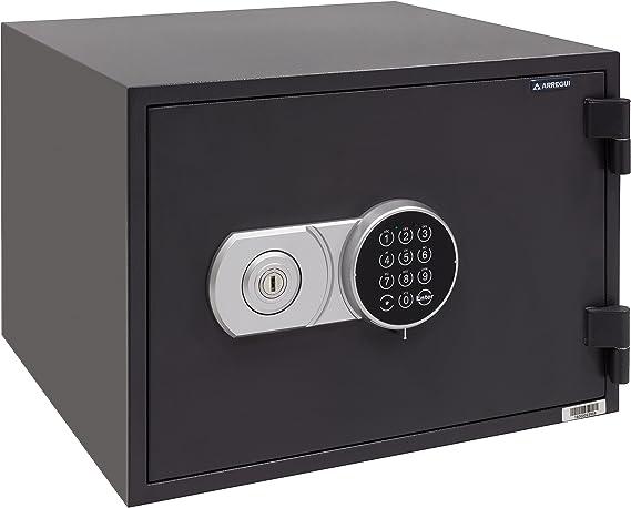 Arregui - Caja fuerte electrónica ignífuga color gris grafito: Amazon.es: Bricolaje y herramientas