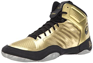 bca3d29cd6f ASICS Mens JB Elite III Wrestling Shoe: Buy Online at Low Prices in India -  Amazon.in