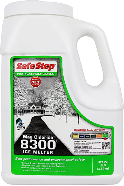 Amazoncom Safe Step Mag Chloride Ice Melter 8300 Maximum