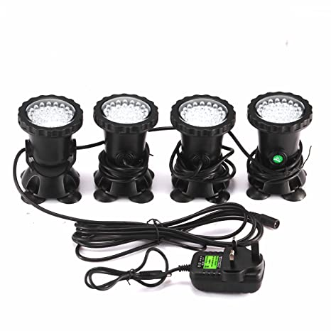 Ip68 Rgb Pool Fountain Lamp 36 Led Underwater Spot Light Highly Waterproof Tank And Aquarium Landscape Lights Eu Plug Strong Packing Led Lamps