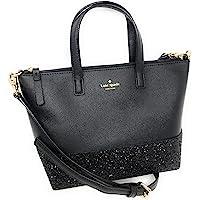 d817477410ab Kate Spade New York Ina Greta Court Glitter Crossbody Bag Top Handle Handbag