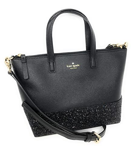 5abacb7c1e3 Kate Spade New York Ina Greta Court Glitter Crossbody Bag Top Handle Handbag