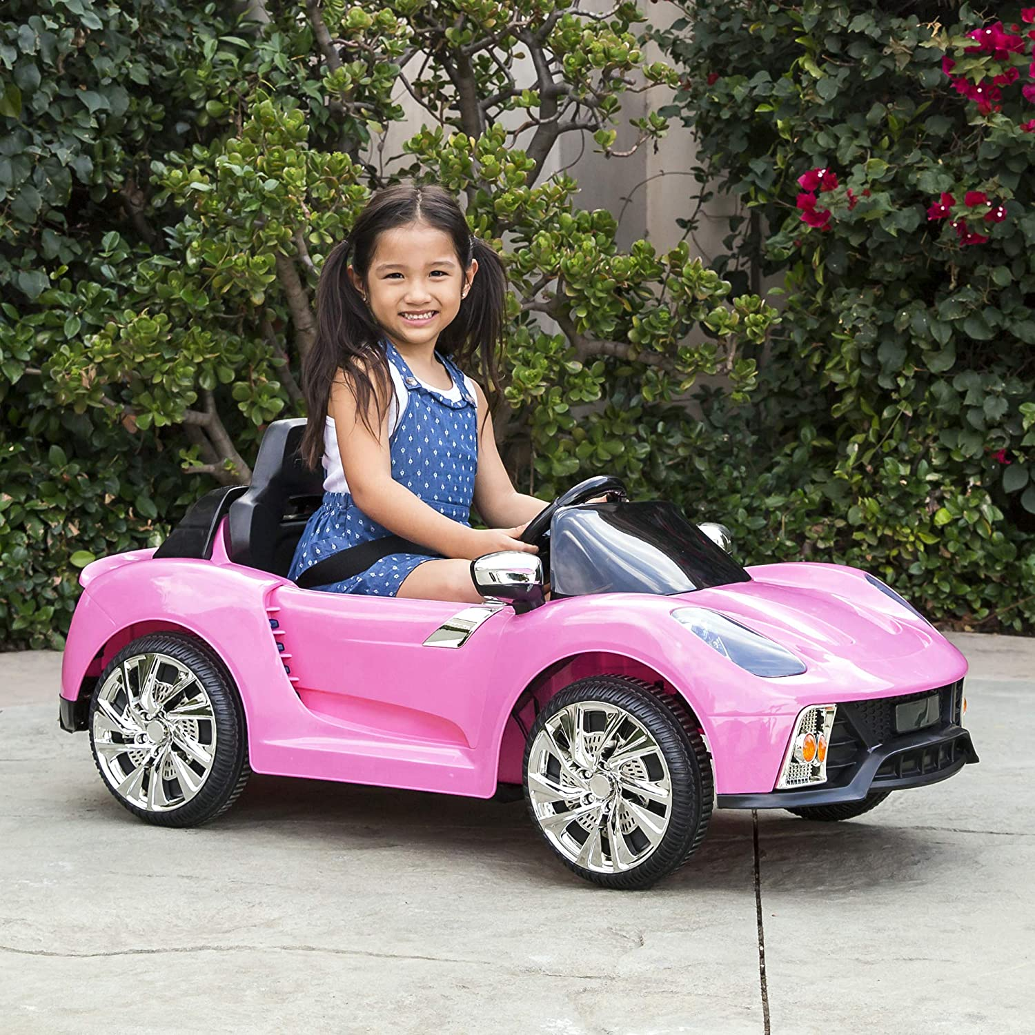 Best Choice Ride-On: Best pink electric vehicle-car 2021