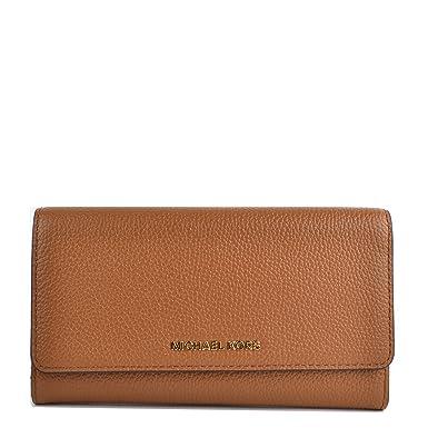 4774121927d38c MICHAEL by Michael Kors Mercer Acorn Trifold Wallet Acorn one size:  Amazon.co.uk: Clothing